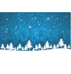 Holiday winter background for merry christmas vector