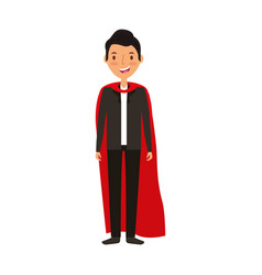 magician avatar character icon vector image