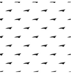origami airplane pattern seamless vector image