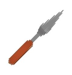 Pizza spatula kitchen vector