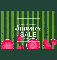 summer sale concept background vector image
