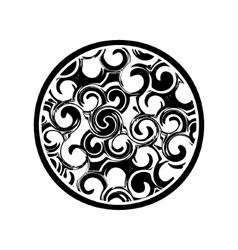 artistic pattern vector image