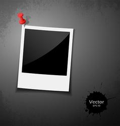 Instant photo design vector image vector image