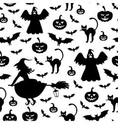 hallowen pattern vector image