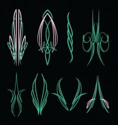 pinstripe016 vector image vector image
