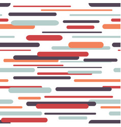 seamless pattern with geometric dynamic background vector image