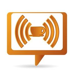 Wi-fi design vector image