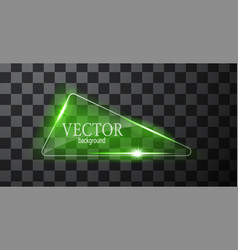 abstract neon triangle vector image