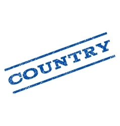 Country Watermark Stamp vector