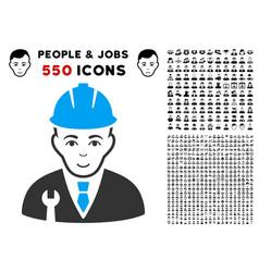 Developer icon with bonus vector