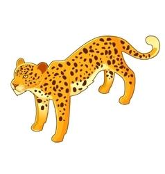 Isometri leopard icon vector image