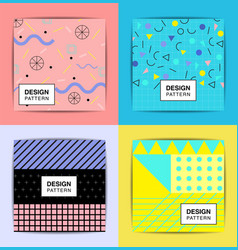 layout pattern abstract background stylish vector image