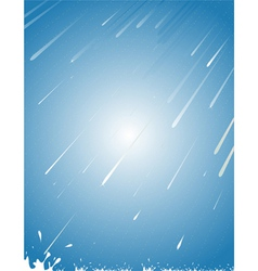 rain abstract vector image