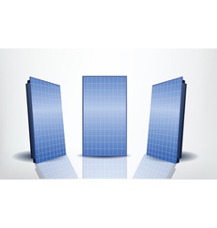 solar panels set vector image