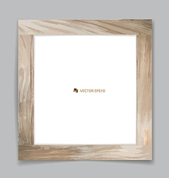 picture Wood frame vector image vector image