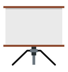 presentation screen icon isolated vector image