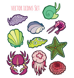 Animals - marine life vector