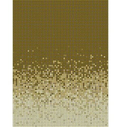 Bubble gradient pattern in brown and beige vector