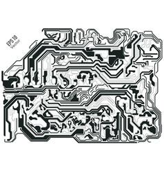 electroblack vector image