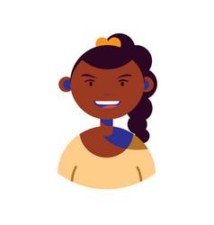 woman character people flat image vector image