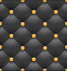black royal upholstery seamless background2 vector image