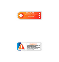 abstract paper infografics eps10 vector image