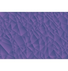 Abstract purple background consisting of triangles vector