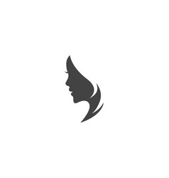 Beauty women logo template vector