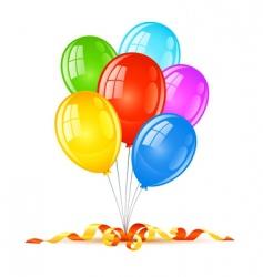 birthday holiday celebration vector image
