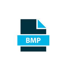 File bmp icon colored symbol premium quality vector