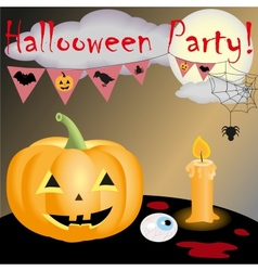 Halloween party new vector image