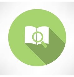 Sear The Book icon vector