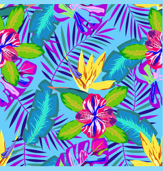Tropical abstract pattern vector