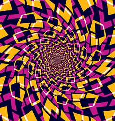 Whirly abstract background vector