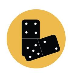 Domino vector image vector image