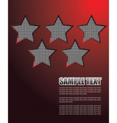 star backgrounds vector image vector image
