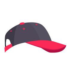 minimalistic bright of cap vector image