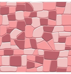 Stone wall background in seamless format vector image