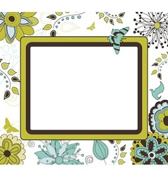 Frame for text vector image vector image