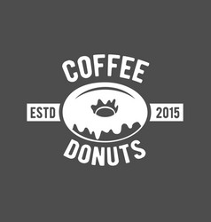 Badges and labels elements for coffee vector