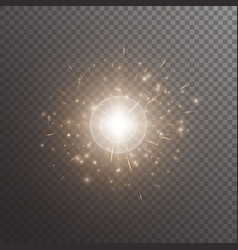 bokeh background with shine light vector image