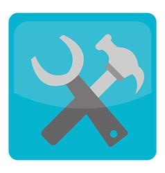 build tool icon vector image