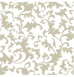 floral pattern flower oriental ethnic background vector image