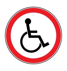 for disabled vector image