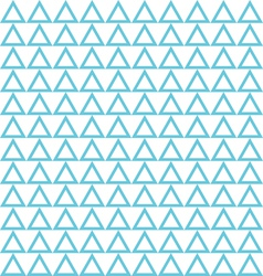 seamless blue triangle abstract pattern vector image