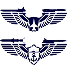 The icons of the Navy and the Navy vector image