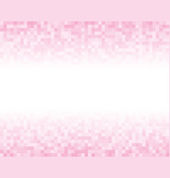 The light pink square mosaic tiles background vector