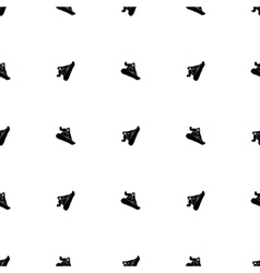 Snowboarding seamless pattern vector image vector image