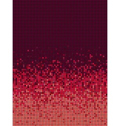 bubble gradient pattern in burgundy and red vector image