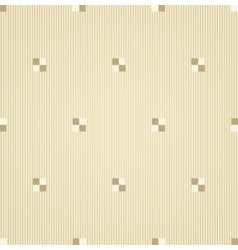 Abstract beige geometrical seamless pattern vector image